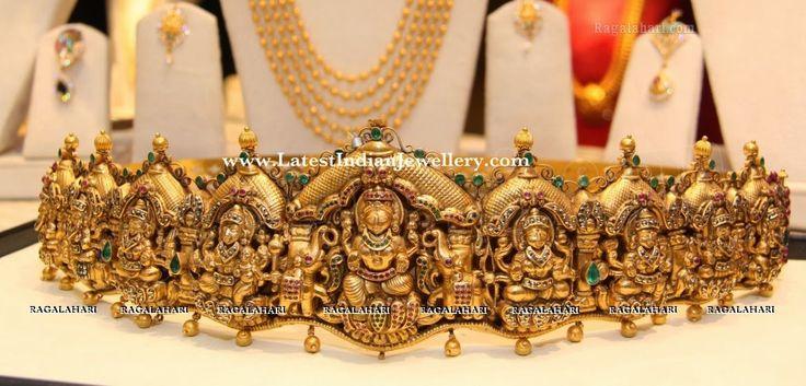 Nakshi Work Ashtalakshmi Vaddanam