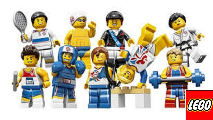 LEGO London Olympics team GB sports minifigures price guide boxing tenni...