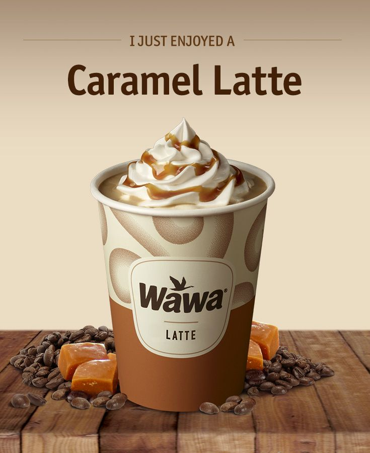 Wawa Hot & Iced Beverages: Caramel Latte
