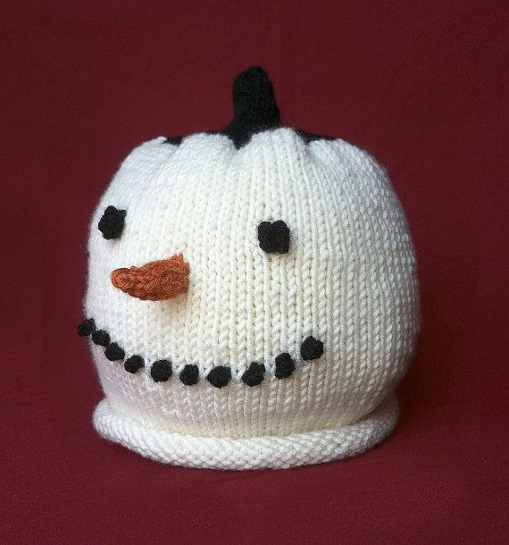 Knitting Pattern For Baby Snowman Hat : 27 best images about Beautiful Knitting on Pinterest
