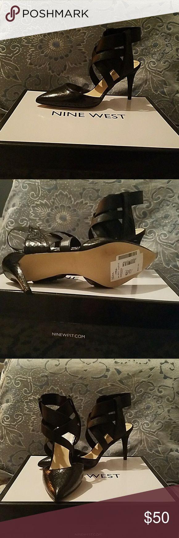 "Nine West High heels Shoes New never worn Nine West Black High heel 3"" Nine West Shoes Heels"