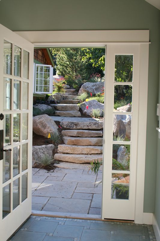 25 best ideas about single french door on pinterest for Double opening french patio doors