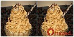 Zázračný kapučíno krém, ktorý perfektne drží aj bez želatíny či stužovačov: Do zákuskov, tort aj nepečených dezertov je neprekonateľný!
