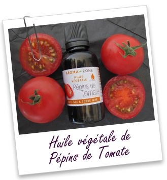 Huile végétale Tomate Pépins Aroma-Zone