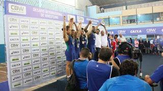 Blog Esportivo do Suíço: Brasil derrota Cuba em desafio de luta olímpica