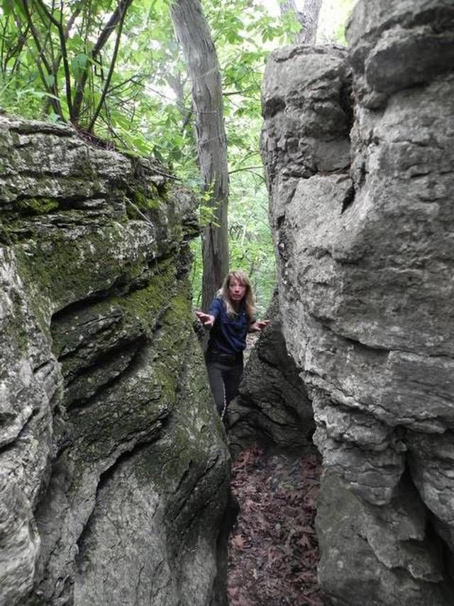 The Burr Oak Woods Conservation Area in Blue Springs offers close-to-home hiking opportunities for Kansas City-area residents.
