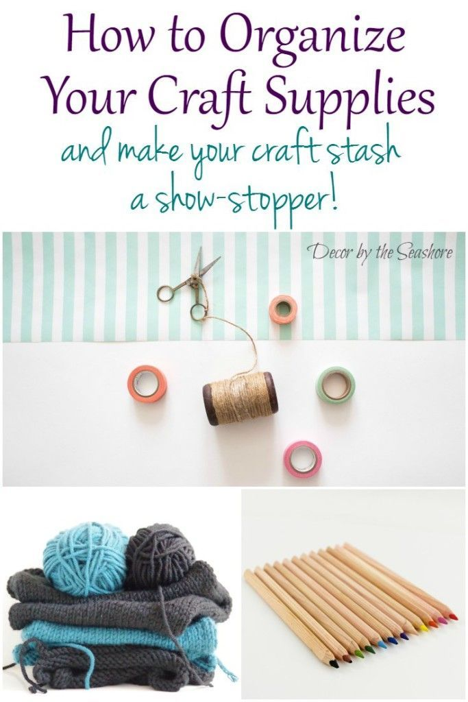 429 best images about craft room on pinterest craft for How to organize craft supplies