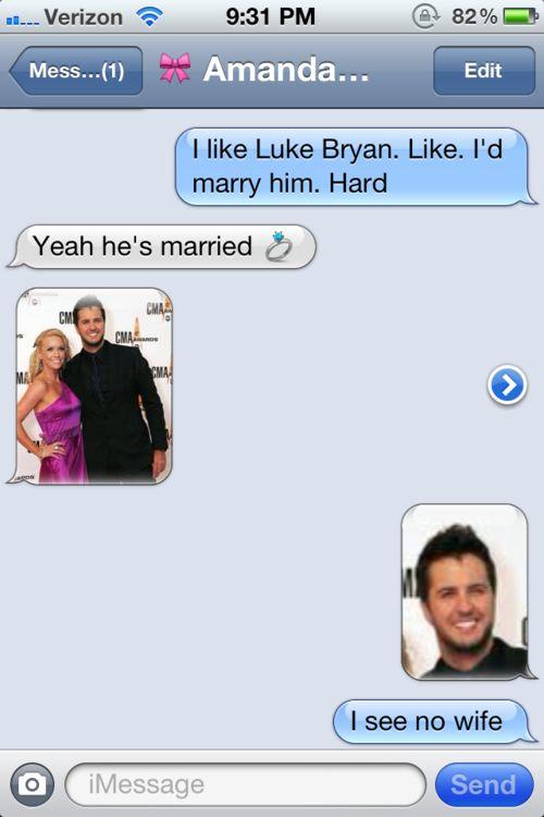 Hahahahah. Internet Site, Best Friends,  Website, Web Site, Funny Stuff, So Funny, Hot Guys, Guys Celebrities, Luke Bryans Wife