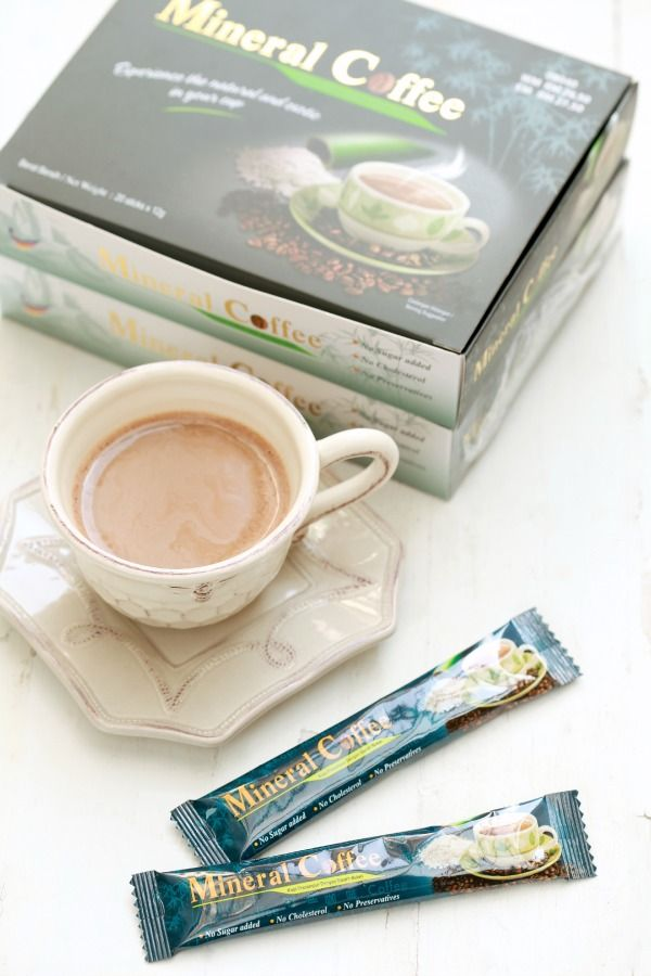 masam manis: Puding Marble Mineral Coffee