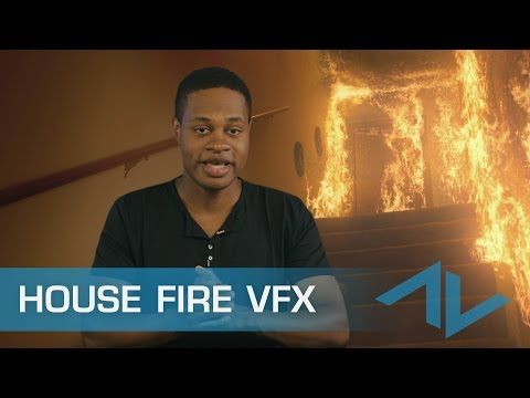 Burning house after effects tutorial