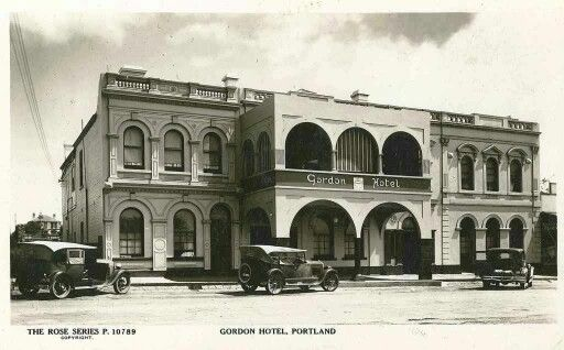 Gordon Hotel, Portland Victoria Australia.  We used to train racehorses for the owners of this pub. Great people and great pub.