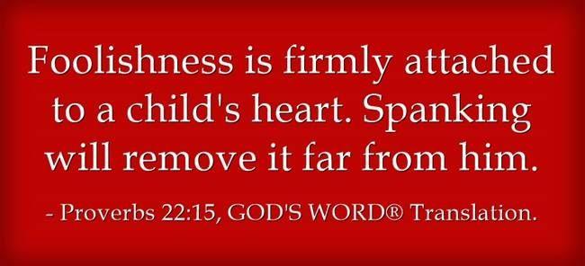 Proverbs 22;15