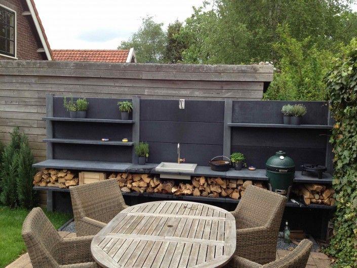 Hergestellt Aus Nahezu Unverwüstlichem Beton, Die Outdoor Küche WWOO  Erfüllt Mehrere Funktionen Und Kann Individuell Geplant Und  Zusammengestellt Werden.