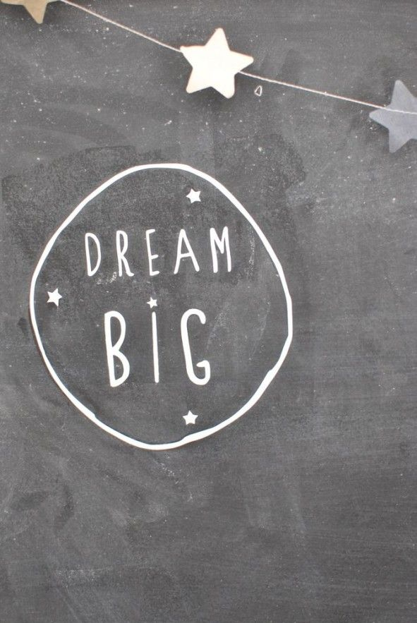 "Don't rule out any dream as ""too big"" because you don't know if that may be the one God wants to use."
