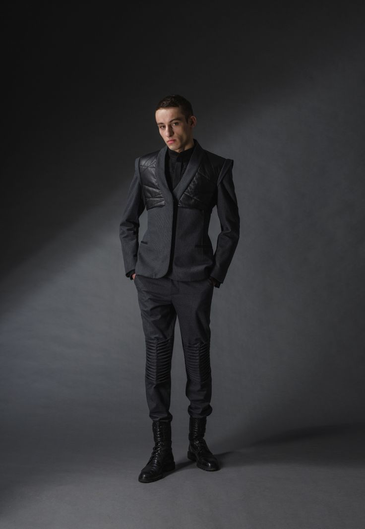 """quilted jacket michal kozlowski   diploma collection """"debut""""   2014"""