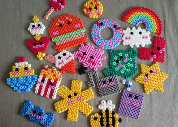 figuritas hama beads hama beads pinterest manualidades beads and hama beads. Black Bedroom Furniture Sets. Home Design Ideas