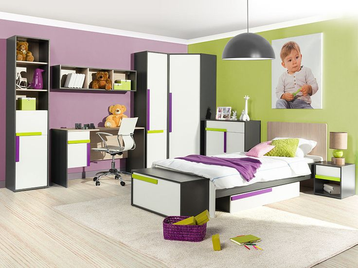 Buy IKAR Kids room Furniture Set at a price of £622 in the online store Euro Interiors Ltd.