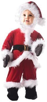 Boys Toddler Santa Costume for Christmas