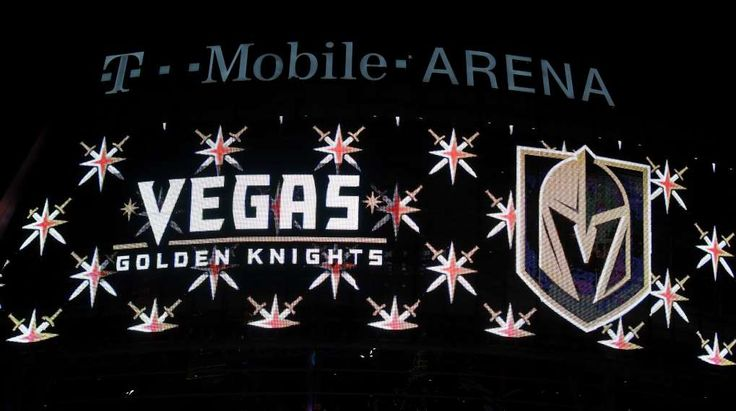 Draft lottery scenarios for 5 teams with best odds  -  April 29, 2017:    Vegas Golden Knights  -    LAS VEGAS, NV - NOVEMBER 22: The team name and logo for the Vegas Golden Knights are displayed on T-Mobile Arena's video mesh wall after the Vegas Golden Knights was announced as the name for the Las Vegas