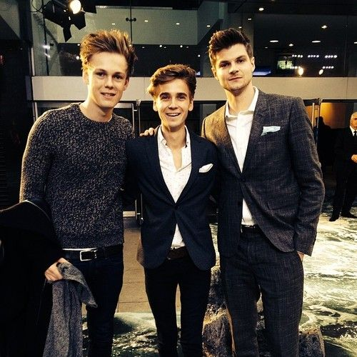 Caspar Lee, Joe Sugg and Jim Chapman| youtubers