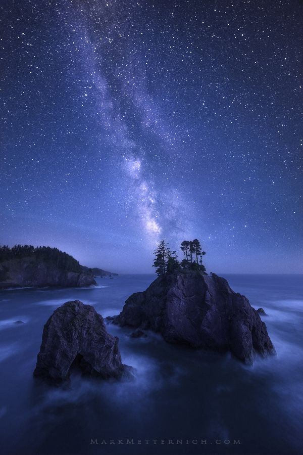 ~~10 Years   Milky Way at the Oregon Coast   by Mark Metternich~~