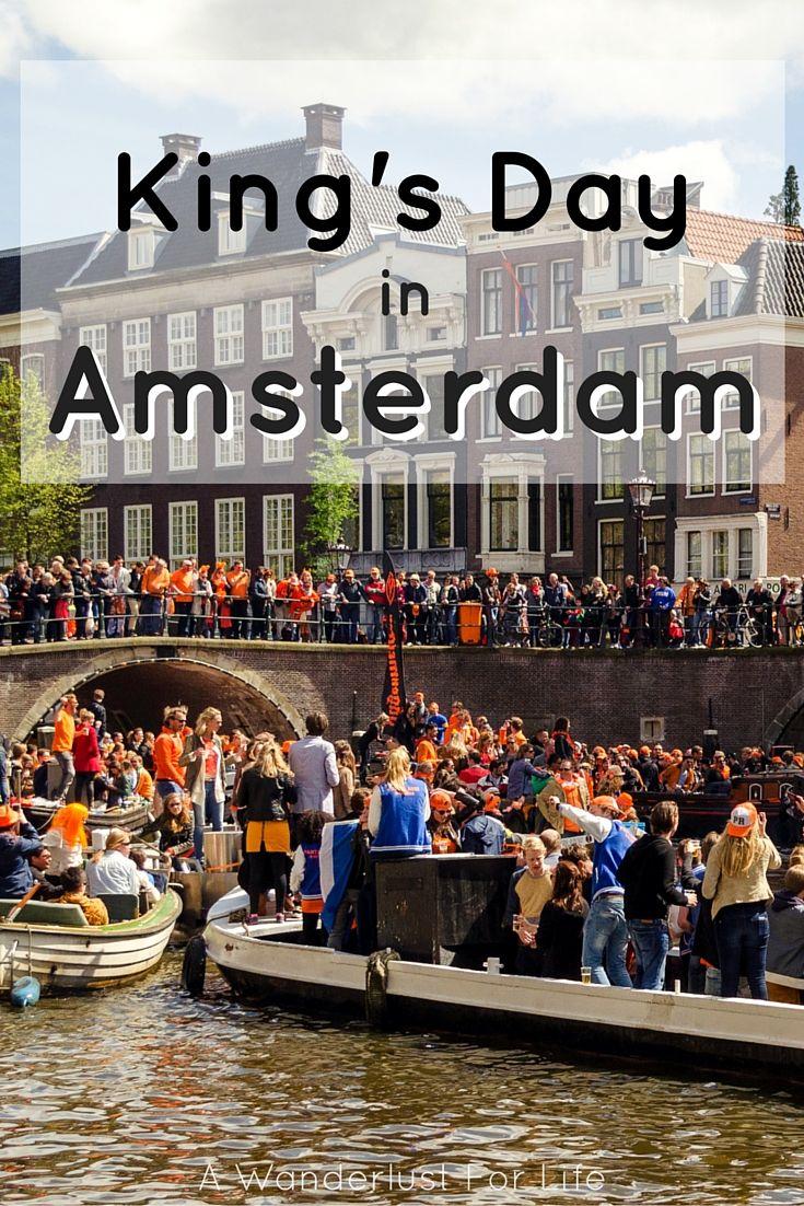King's Day in Amsterdam |  A Wanderlust For Life | www.awanderlustforlife.com |  #Amsterdam #KingsDay #Holland