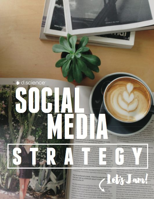 Get your FREE Social Media Strategy Pack (2 Workbooks + Free Social Media Tools + Resources!) Pick it up here https://dscience.leadpages.co/social-media-strategy-free-pack/