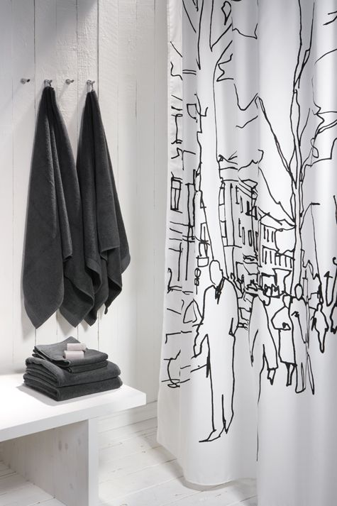 ....shower curtain with extreme class