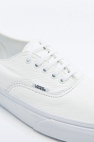 "Vans – Ledersneaker ""Authentic Deacon"" in Weiß - Urban Outfitters"