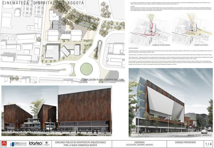 Galería de Segundo Lugar en Concurso público del diseño de nueva cinemateca distrital de Bogotá / Colombia - 11