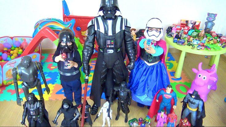 Erkek oyuncakları koleksiyonu oyuncak oda turu ve Star Wars koleksiyonu ...