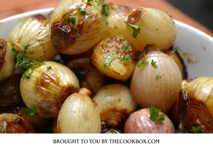 Balsamic Baby Onions