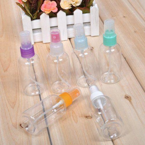 Leer Parfüm Flasche Zerstäuber Sprüher Sprühflasche Fingerzerstäuber 75 ML/CC 5 Stück