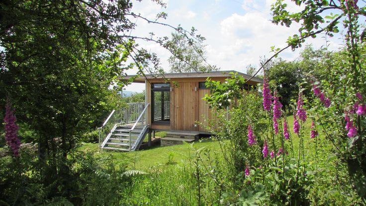 Glamping pod idea Modular design Timber Cabin Wales