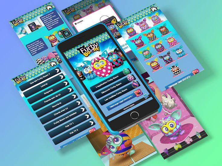 Application iPhone Furby Boom