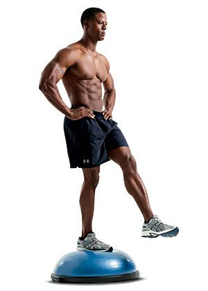 Work your core with the Single-Leg Balance   Abs Exercises ...