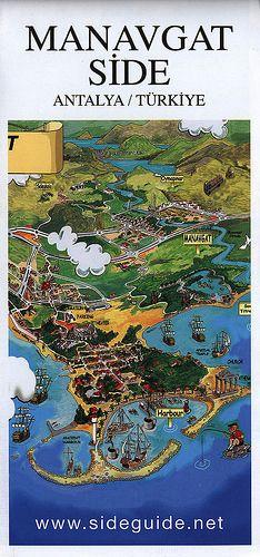 Manavgat Side, Antalya Türkiye 2013_1 map, Mediterranean, Turkey | by Zsolt Lesti