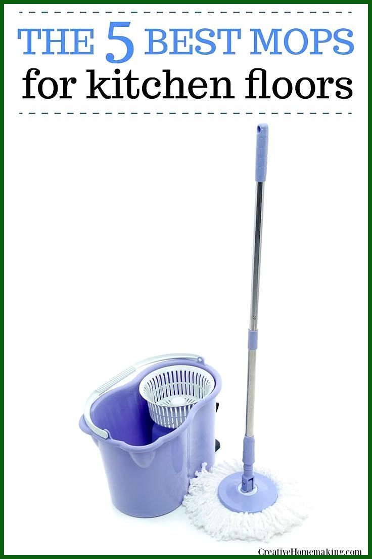 The 5 Best Mops For Kitchen Floors 2019