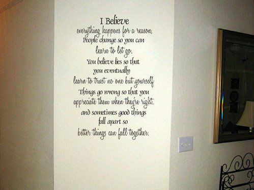 Best Wall Wear Images On Pinterest - Custom vinyl wall lettering decals