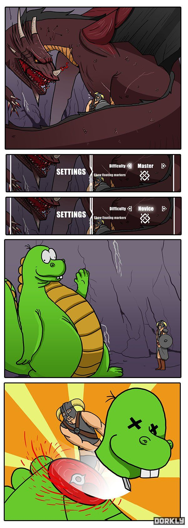 Skyrim gameplay... HEY THAT'S CHEATING!