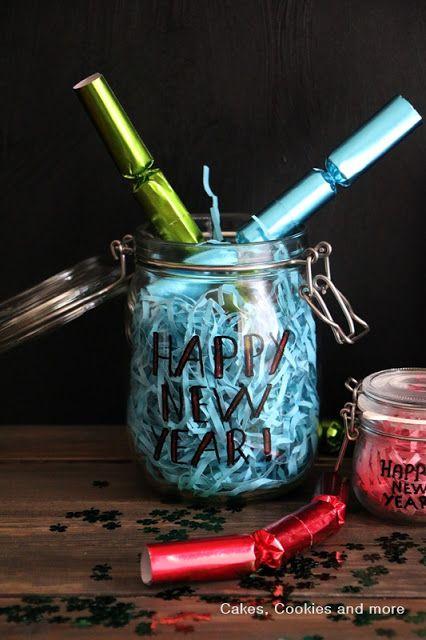 Neujahrswünsche im Glas - Verschenke deine Wünsche in einem beschrifteten Einmachglas