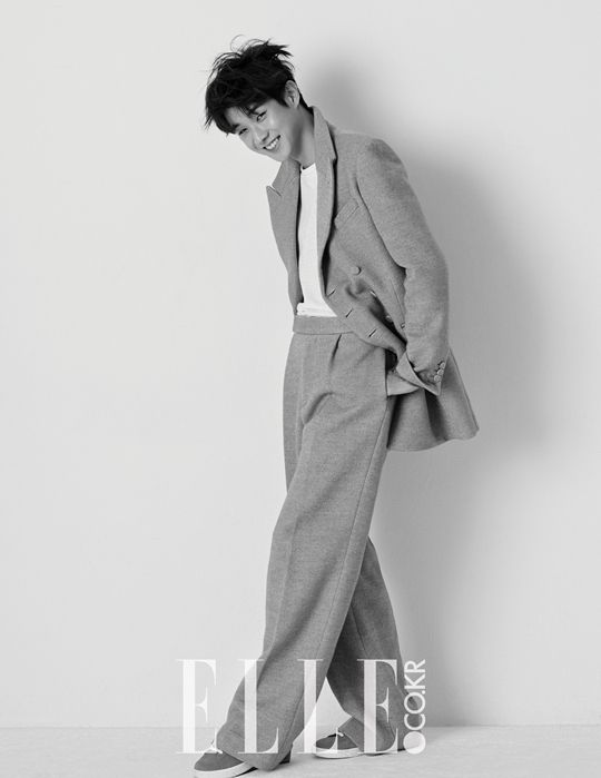 South Korean actor Choi Woo Shik for ELLE's Feb '15 edition #choiwoosik #choiwooshik #elle #korea #southkorea