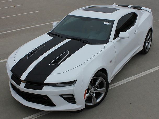 Race Time New Chevy Camaro Racing Stripes Cam Sport 2016 2018 Chevy Camaro Camaro Sports Cars
