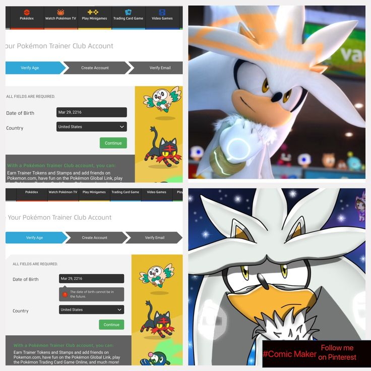 Poor Silver #Sonic #Silver #Sega #Nintendo #Pokemon #Comics #Maker #Pintrest #Pokeclub don't forget to comment