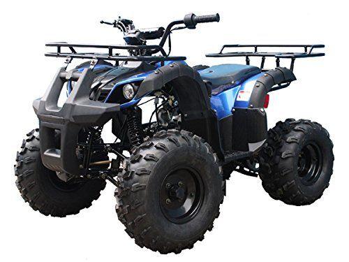 TaoTao Atv TForce 110cc Big Rugged Wheels (Blue) - http://www.caraccessoriesonlinemarket.com/taotao-atv-tforce-110cc-big-rugged-wheels-blue/