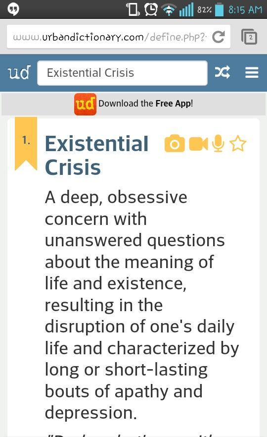 Existentialist Themes of Anxiety and Absurdity