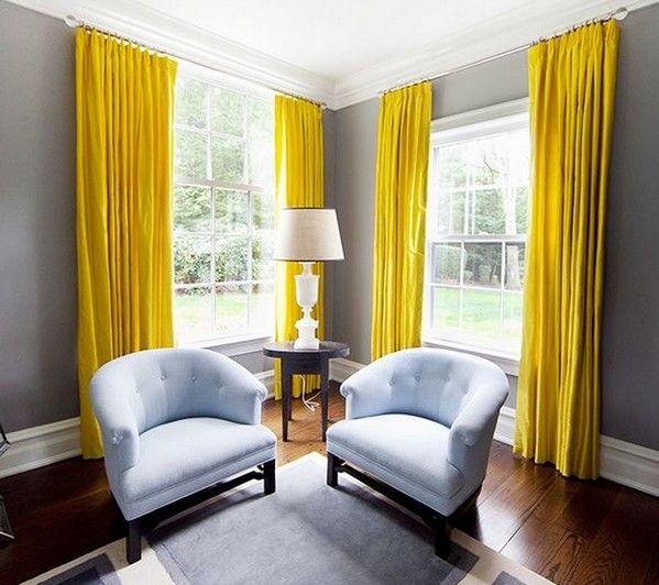 желтые шторы кухня - Поиск в Google