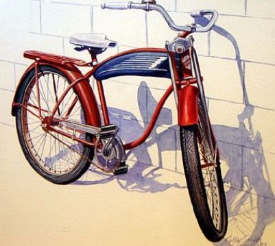67 Best Watercolor Cars Amp Bikes Images On Pinterest