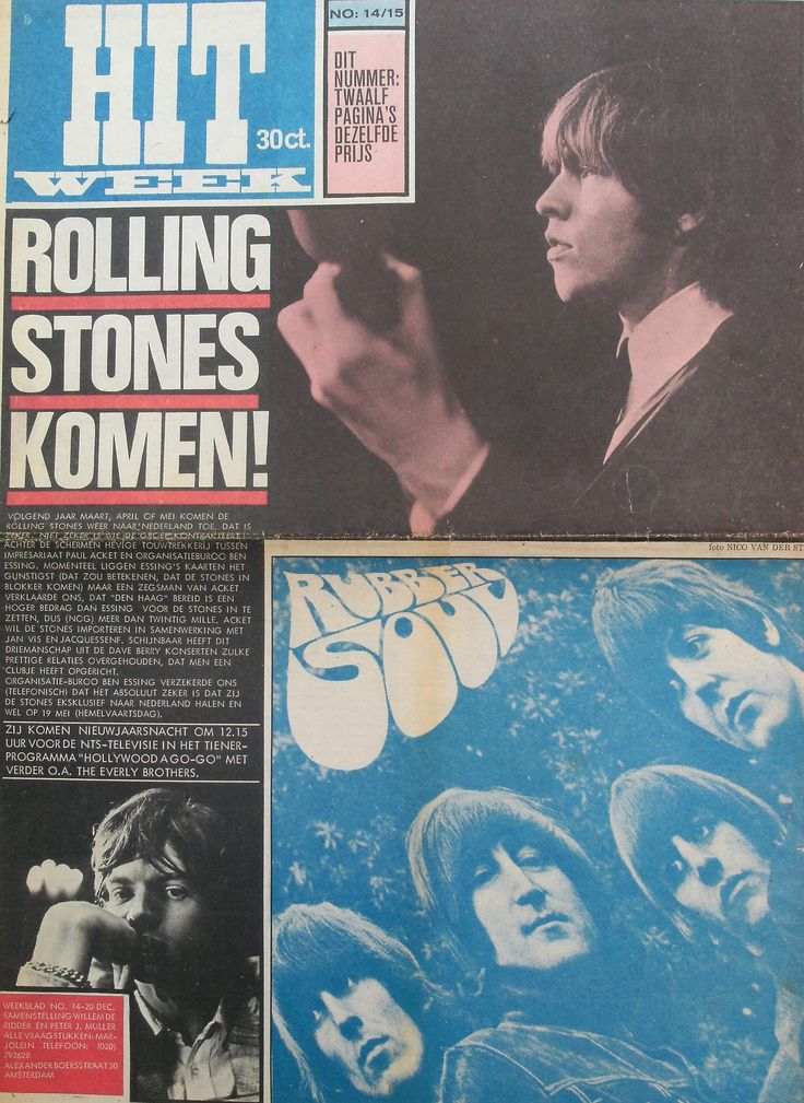Jaargang 1 nr.14/15 ~ 20 dec. 1966