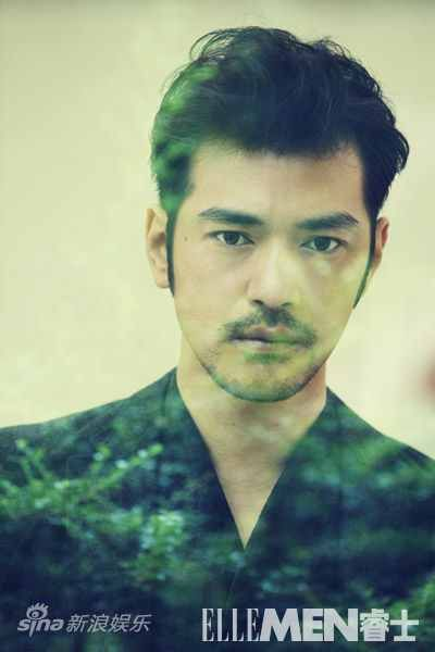 ellemen takeshi kaneshiro | ... Sliced From A Rusty Cleaver: Takeshi Kaneshiro - September ElleMen